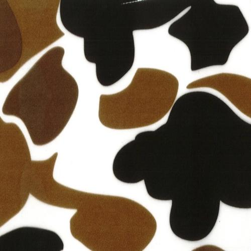 Brown Old School #U146 Camouflage Lycra Jersey Knit Fabric