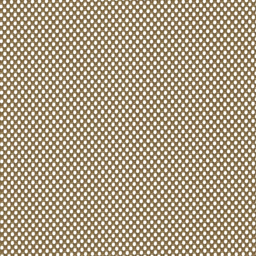 Dark Gold Mesh Knit Fabric