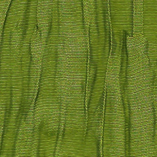 Dark Lime Crush Tafetta Woven Fabric