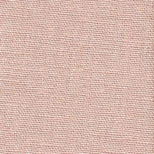 Dusty Pink Laundered Linen Woven Fabric