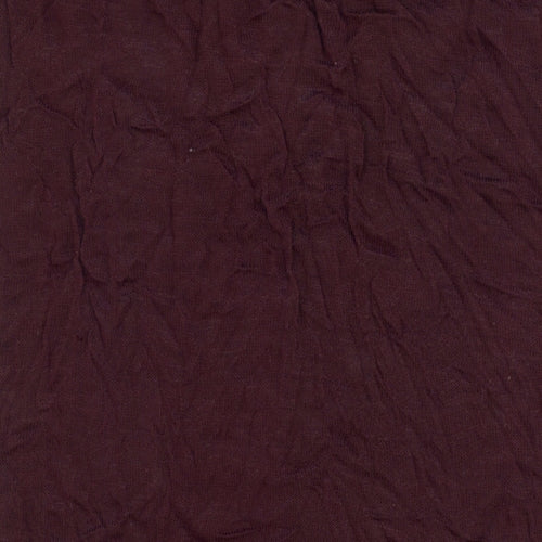Eggplant Crush Texture Polyester/Lycra Jersey Knit Fabric