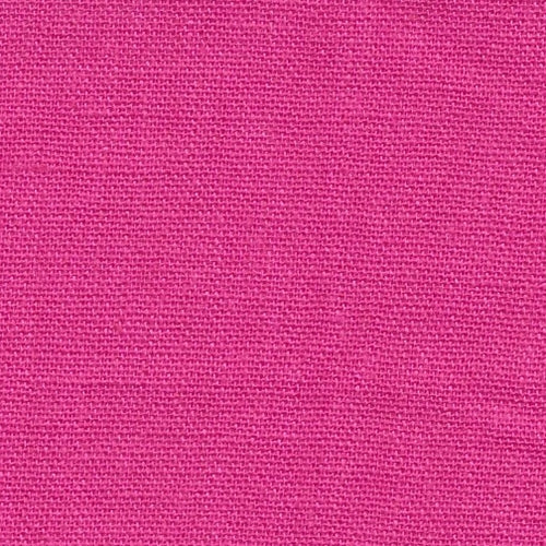 Fuchsia Laundered Linen Woven Fabric