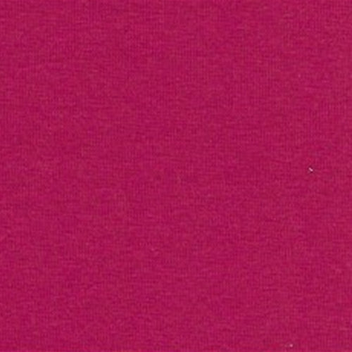 Fuschia 10 oz Cotton/Lycra Jersey Knit Fabric