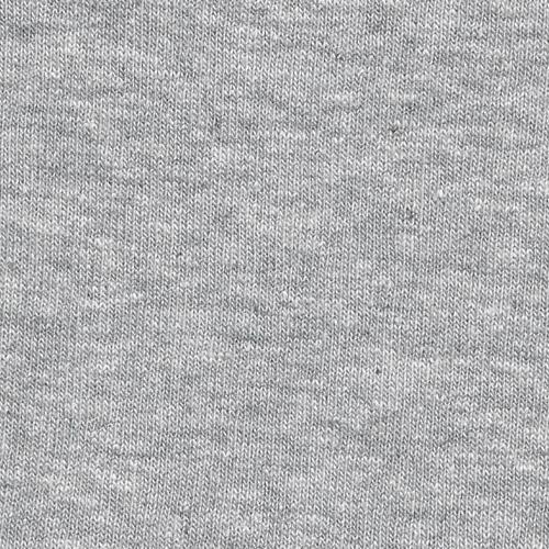 Heather Grey U66/67 Mock-Bamboo 10 Ounce Sweatshirt Fleece Knit Fabric - SKU 5213 HG