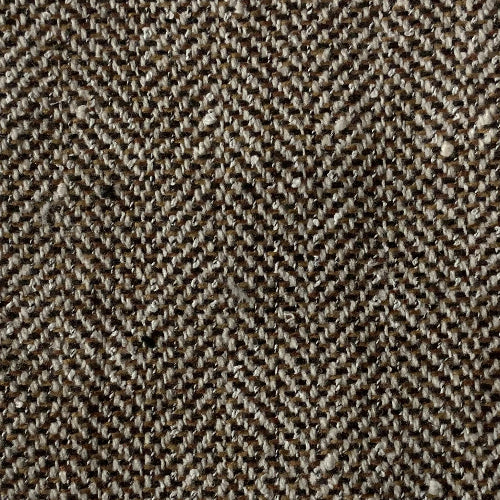 Brown Herringbone Wool Coating Woven Fabric