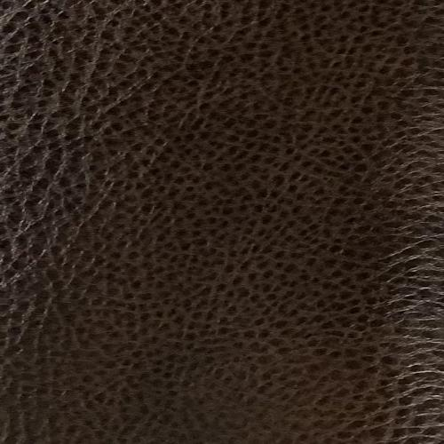 Coffee Hide Out Faux Leather Vinyl Fabric #S204