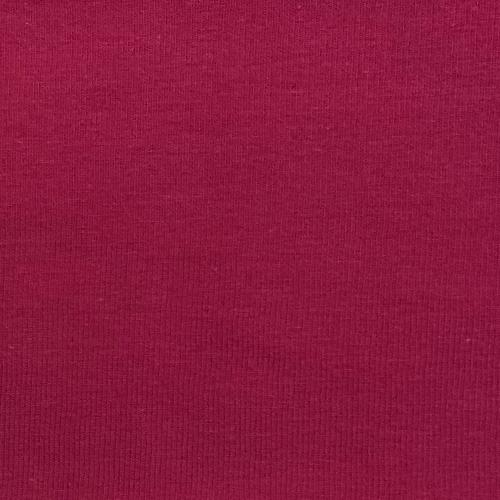Fushia #S60 10oz. Cotton/Lycra Jersey MADE IN AMERICA Knit Fabric
