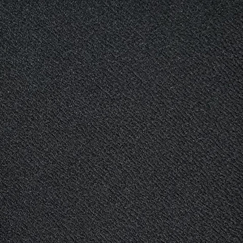 Black Liverpool Double Knit Fabric