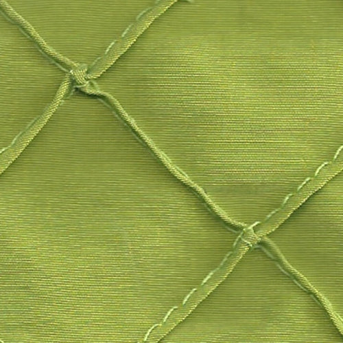 Lime 1 Stitched Diamond Tafetta Woven Fabric (50 Yards Roll) - SKU BT