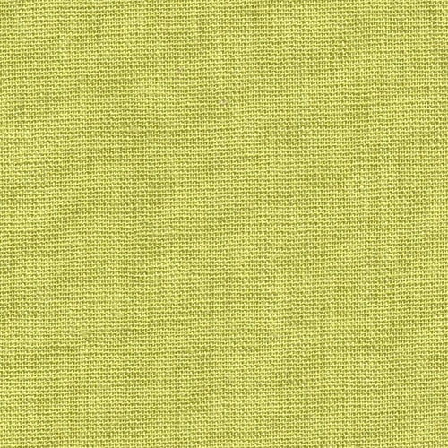 Lime Laundered Linen Woven Fabric