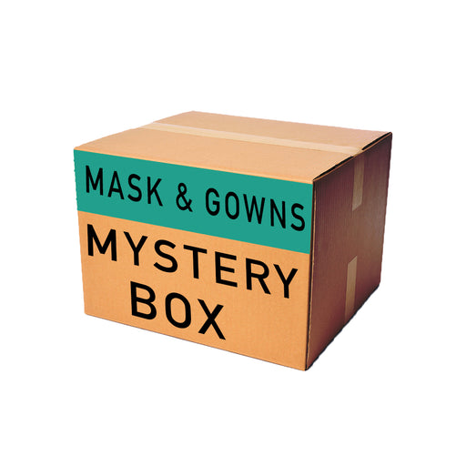 Mask & Gown Solid Woven Mystery Fabric Box