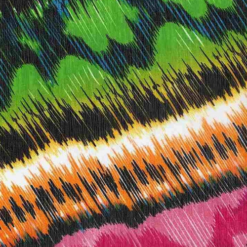 Multi Zena Chiffon Print Woven Fabric (100 Yards Roll) - SKU MYL