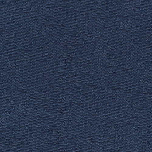 Navy 10oz. French  Terry  Knit Fabric
