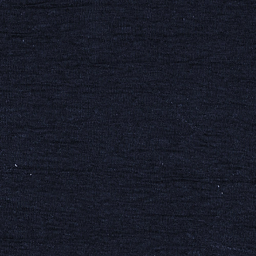 Navy Wave Double Knit Blister Polyester Knit Fabric -
