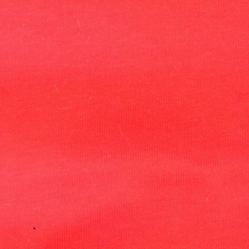Orange 10oz Cotton Lycra Jersey  Knit Fabric