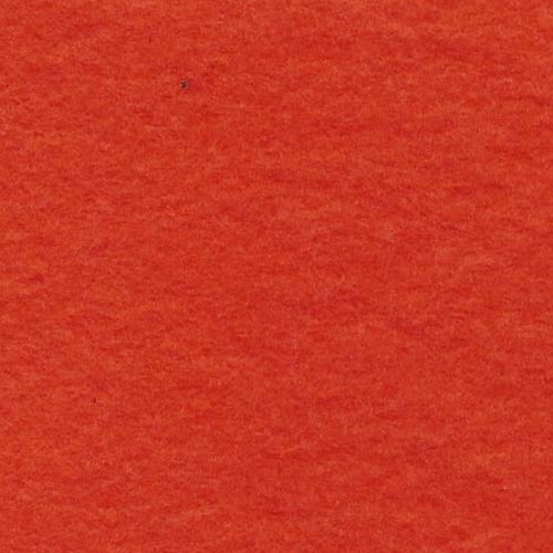 Orange Cotton 8oz. Sweatshirt Fleece Knit Fabric