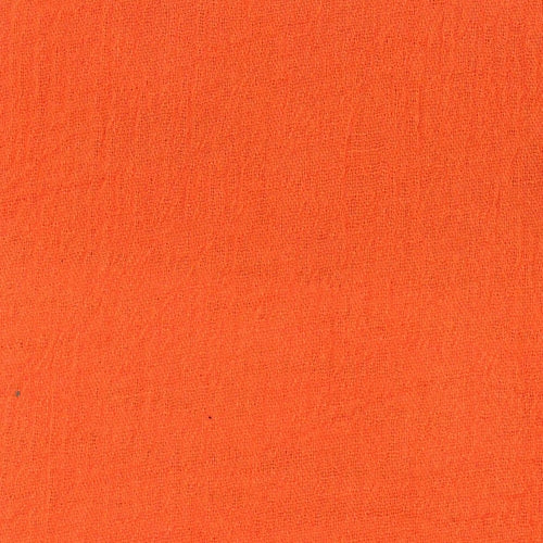 Orange Gauze (A) Woven Fabric