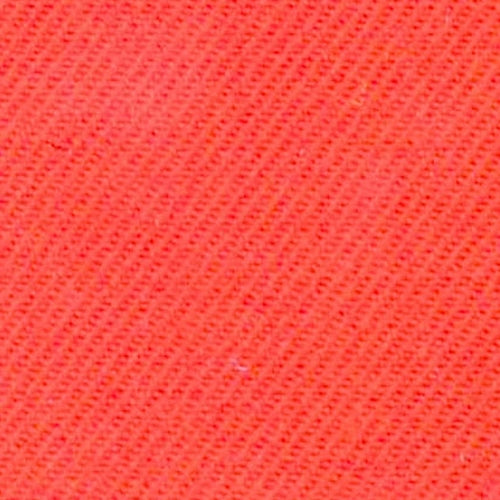 Orange Serge Wool Woven Fabric