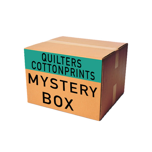 Quilter Print Woven Mystery Fabric Box