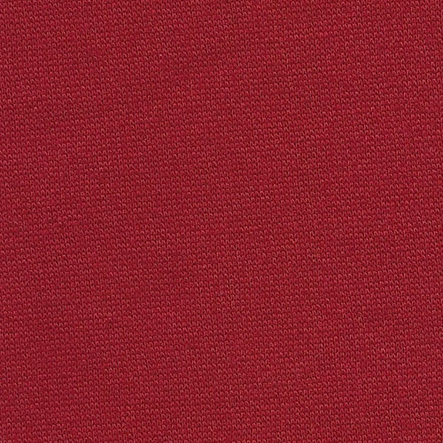 Red 14.5 oz Polyester Cotton Sweatshirt Knit Fabric