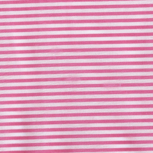 Stripe Pink Woven Fabric