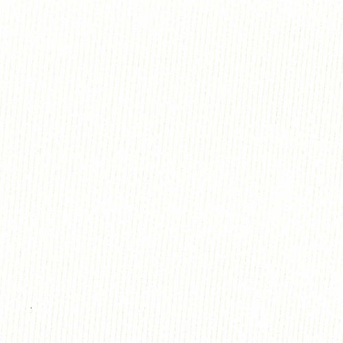 White #48 2X1 Rib Cotton Lycra Knit Fabric