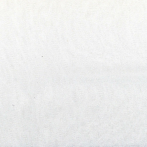 White Jersey Sheer Polyester Knit Fabric