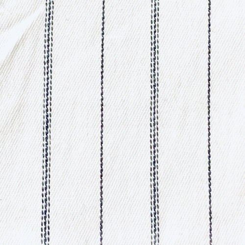 White Stretch Suiting Woven Fabric