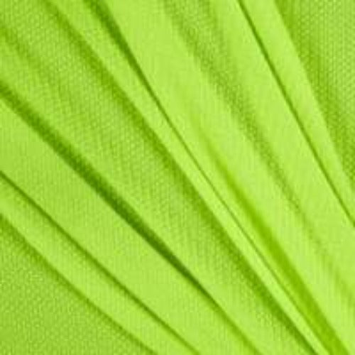 Yellow Neon #U9 Cotton Polyester Thermal Knit Fabric - SKU 3885