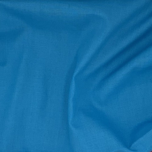 Turquoise #U80 Cotton/Polyester Broadcloth Shirting Woven Fabric - SKU 5801A