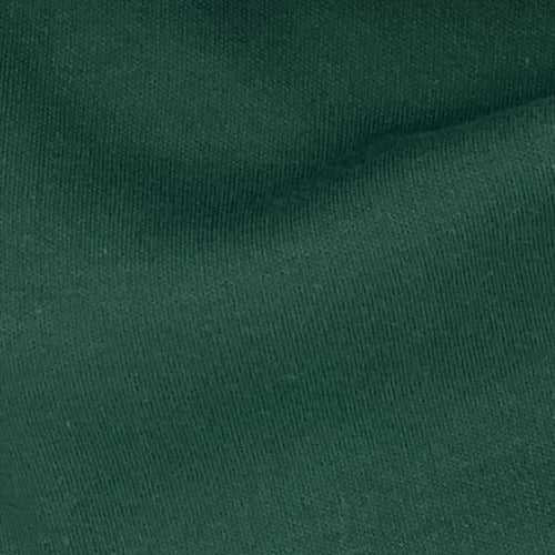 Forest #S68 Polyester/Cotton 12 Ounce Interlock Knit Fabric - SKU 5828E