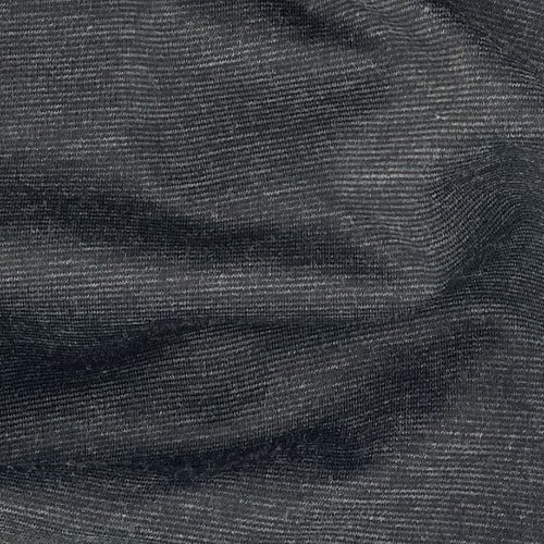 Charcoal Heather #S107 Ponte De Roma 16 Ounce Double Knit Fabric - SKU 5861B