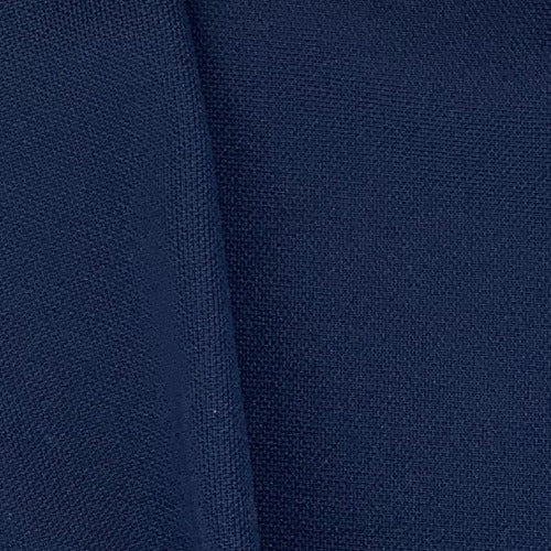 Navy #S20 Double Knit Polyester Knit Fabric 14 Ounce #5342