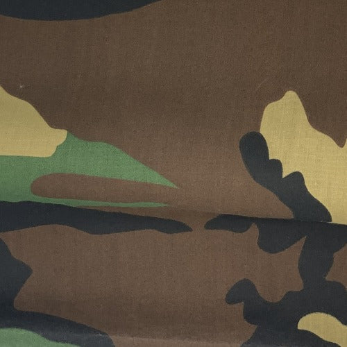 Green Camo #U25 Polyester/Cotton Easy Care Woven Print -SKU 9500A
