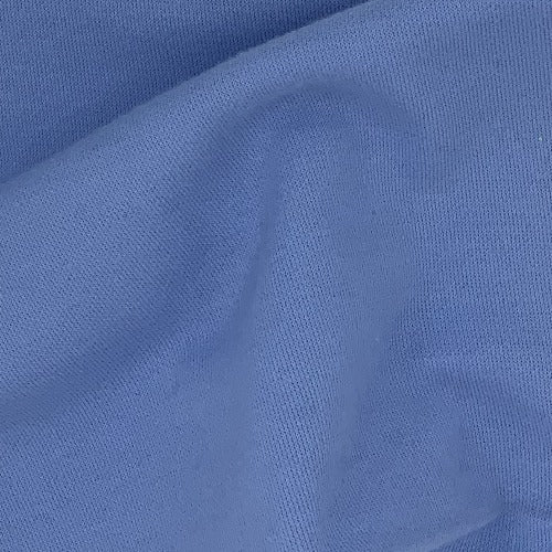 Blue 100% Cotton Fire Retardant Interlock Knit Fabric - SKU 5287C