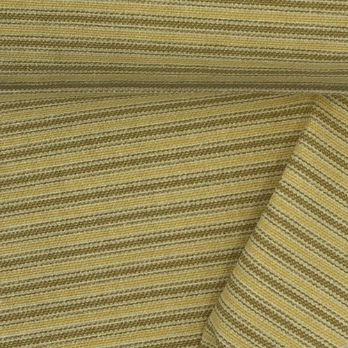 Sun Ticking Stripe Canvas Woven Fabric - SKU 4496