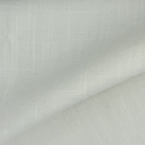 Off White Polyester/Rayon Linen Woven Fabric - SKU 2844PT