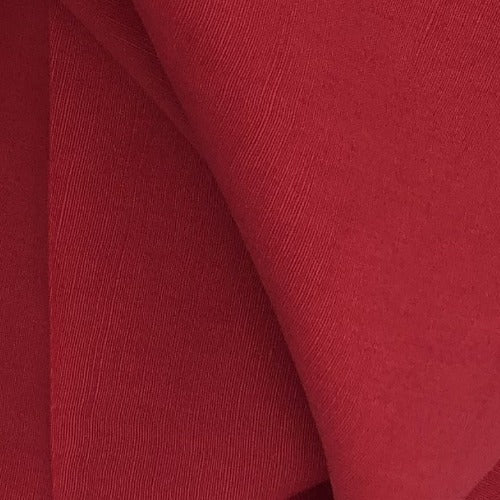 Red #S164 Euro Linen Woven Fabric - SKU 5969