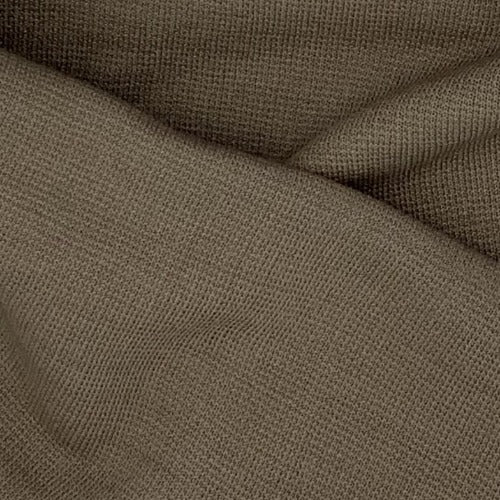 Khaki #S Double Knit Polyester Knit Fabric 14 Ounce #5342