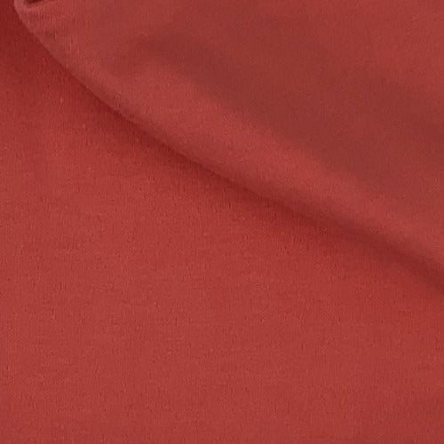 "Coral #S176 ""Made In America"" 10 Ounce Interlock Knit Fabric - SKU 5287A"