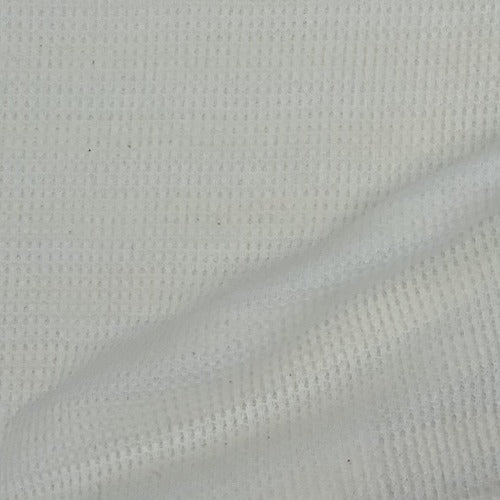 White #2 PFD Thermal Knit Fabric - SKU 1839