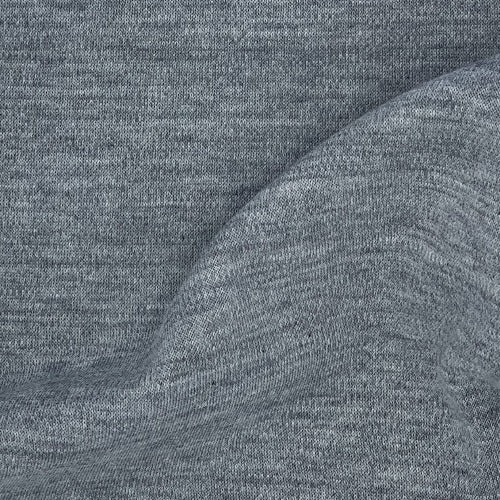 Grey Heather 100% Cotton Fire Retardant Interlock Knit Fabric - SKU 5287C