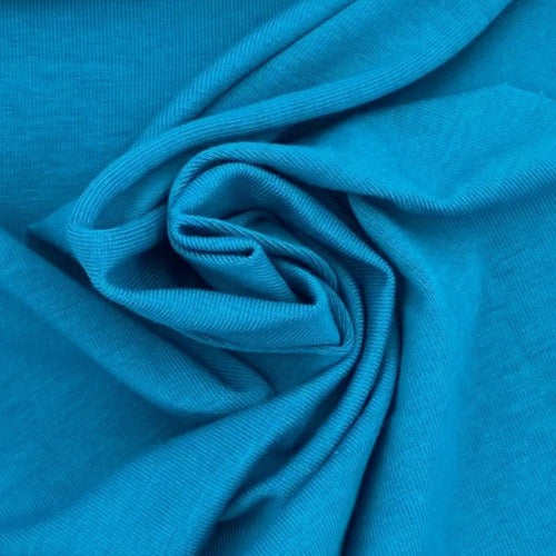 Dark Jade 10oz. Cotton/Spandex Jersey Knit Fabric - SKU 2853B