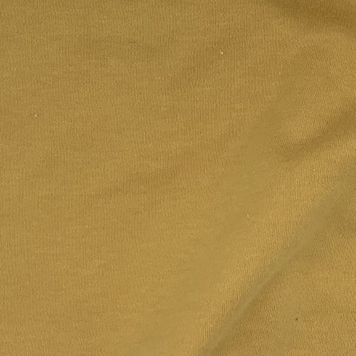 Mustard #S910/913  Polyester/Cotton 12 Ounce Interlock Knit Fabric - SKU 5828A