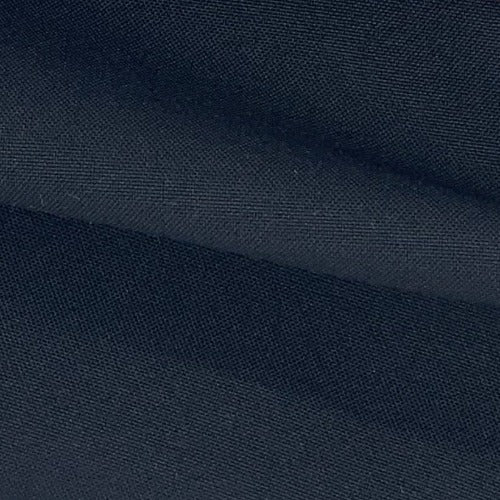 "Black 100% Polyester Poplin 60"" Wide Woven Fabric - SKU 4463E"