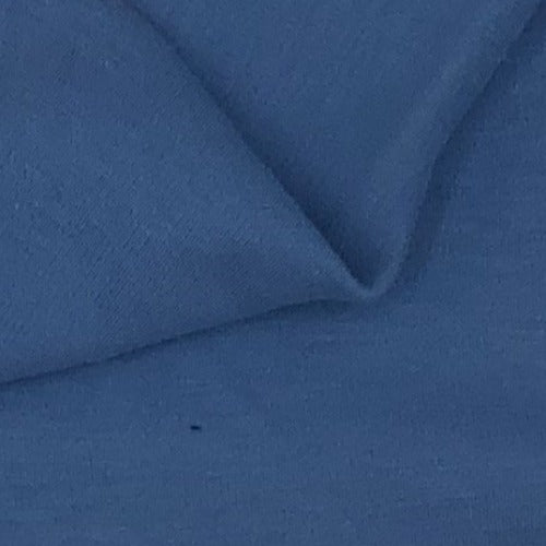 "Blue #S176 ""Made In America"" 10 Ounce Interlock Knit Fabric - SKU 6056"