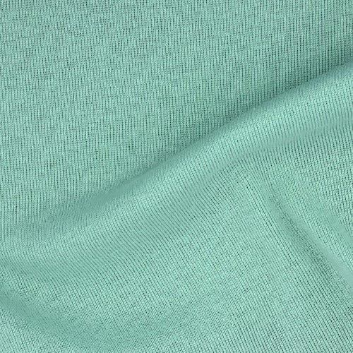 Mint #G Cotton/Polyester 10 Ounce Tubular Rib Knit Fabric - SKU 5829D