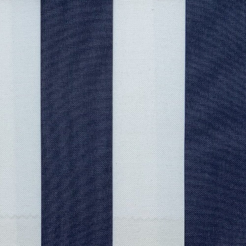 Navy #UB111 ProTuff Wide Stripe Print Waterproof Canvas Woven Fabric - SKU MYL 1532S