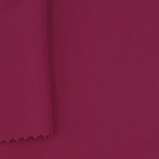 Hot Pink #U166 Crepe De Chine  Woven Fabric - SKU 2665A