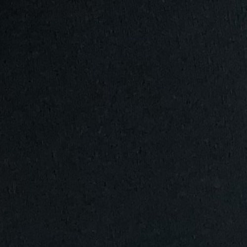 "Black #S82 ""Made In America"" Heavy Weight/Cuffing Rib Knit Fabric - SKU 6033C"